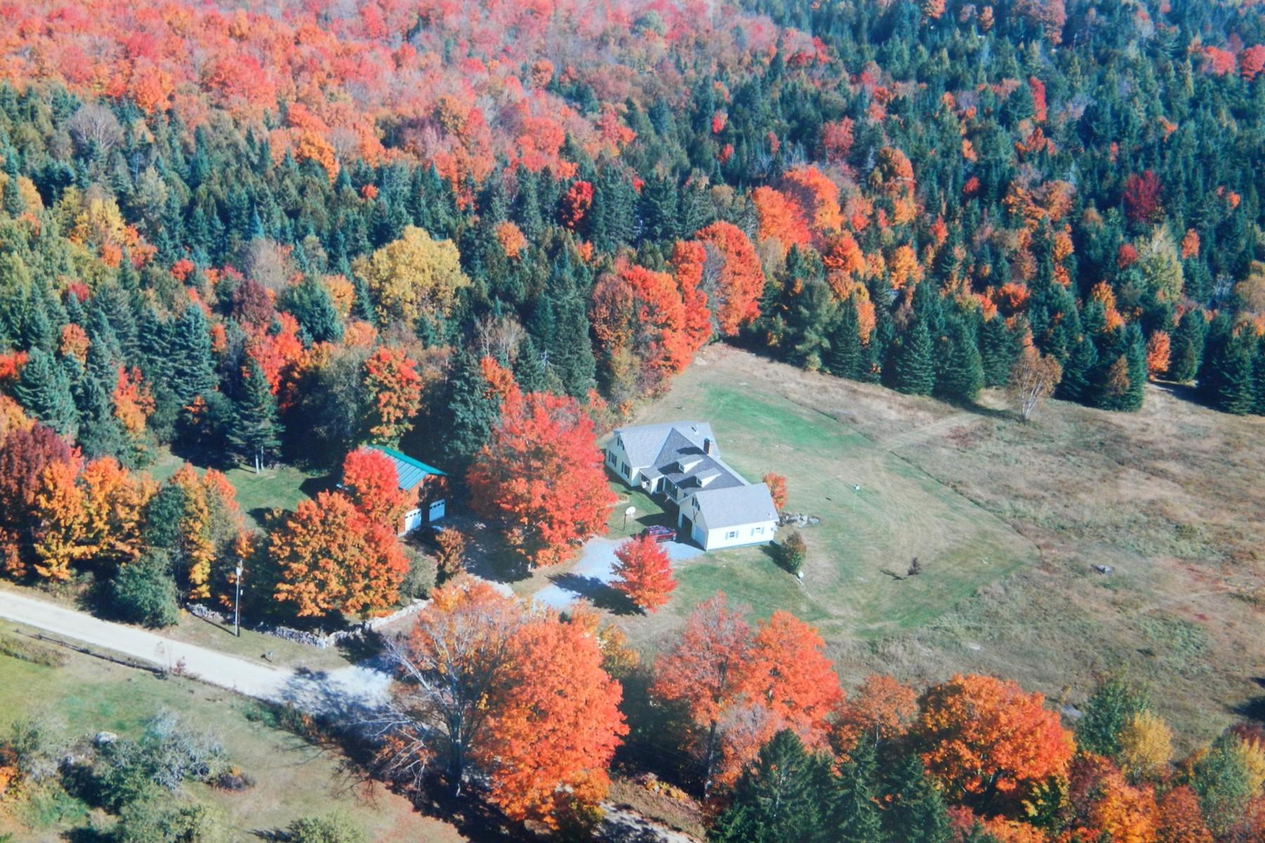 Villa per Vendita alle ore Northeast Kingdom Elegance 388 Dolloff Pond Rd Sutton, Vermont, 05867 Stati Uniti