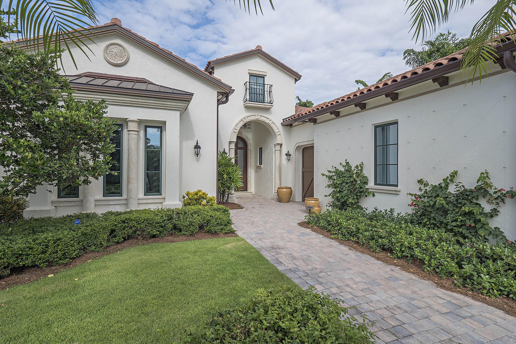 단독 가정 주택 용 매매 에 GREY OAKS - ESTUARY AT GREY OAKS 1516 Marsh Wren Ln Naples, 플로리다 34105 미국