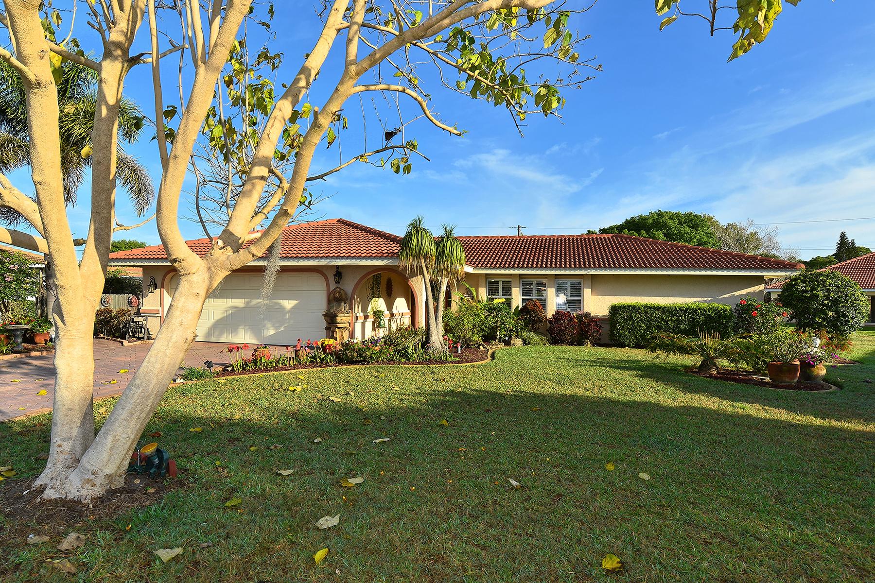 Einfamilienhaus für Verkauf beim SORRENTO EAST 109 Van Dyck Dr Nokomis, Florida 34275 Vereinigte Staaten