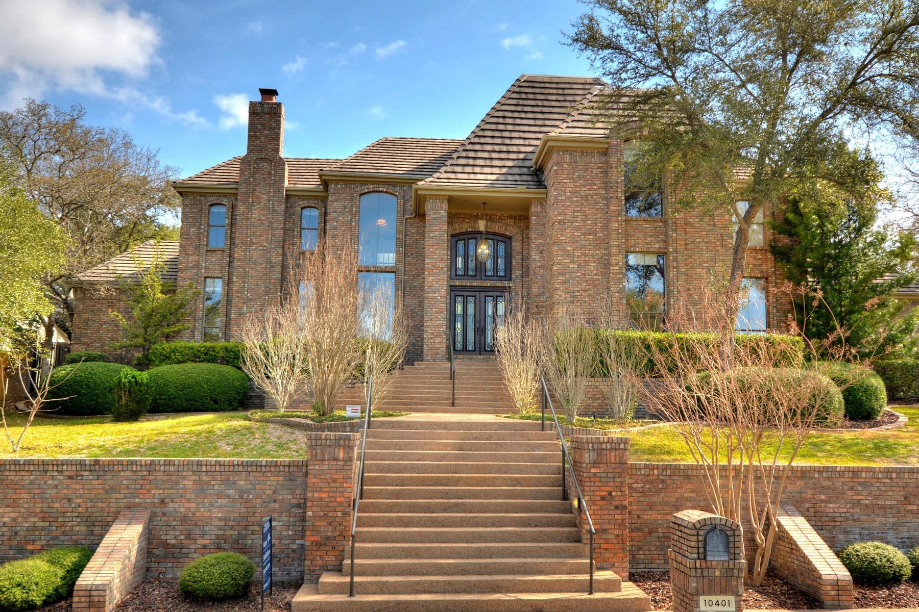 Casa Unifamiliar por un Venta en Majestic Custom in Spicewood at Bullcreek 10401 Lockerbie Dr Austin, Texas 78750 Estados Unidos