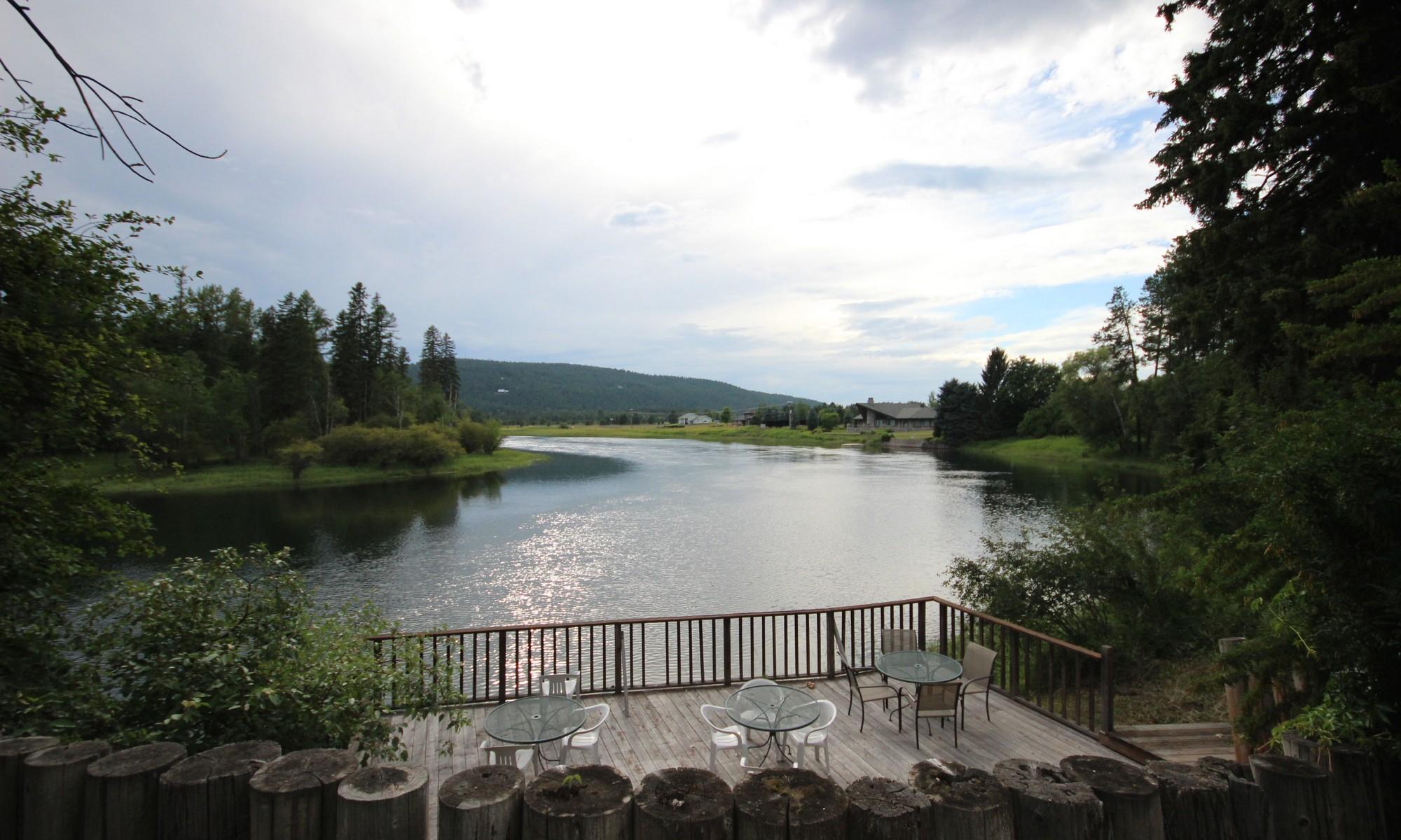Частный односемейный дом для того Продажа на Swan River Estate 600 Eastman Dr Bigfork, Монтана, 59911 Соединенные Штаты