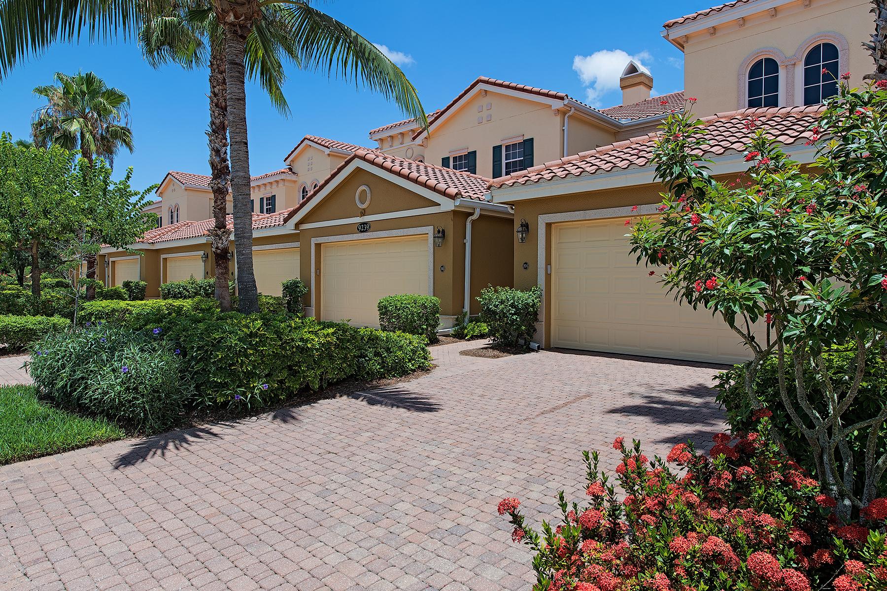Copropriété pour l Vente à FIDDLER'S CREEK - LAGUNA 9239 Tesoro Ln 204 Naples, Florida, 34114 États-Unis