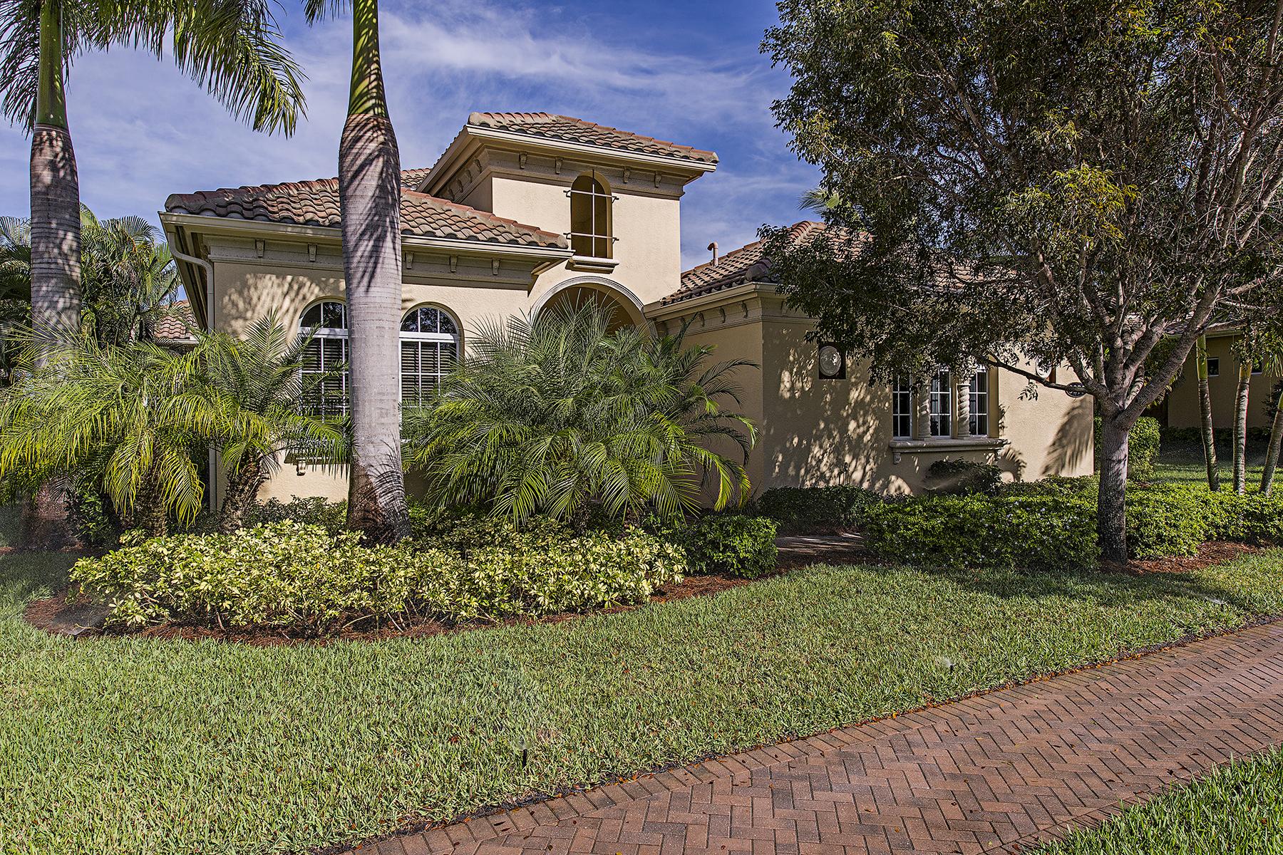 Casa para uma família para Venda às FIDDLER'S CREEK - SAUVIGNON 3275 Hyacinth Dr Naples, Florida 34114 Estados Unidos