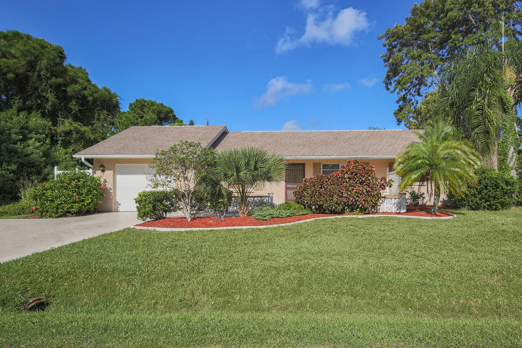 Casa Unifamiliar por un Venta en SOUTH VENICE 5988 Marigold Rd Venice, Florida, 34293 Estados Unidos