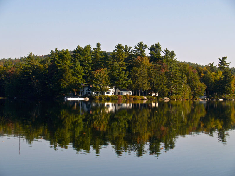 Single Family Home for Sale at Little Lake Sunapee Waterfront Estate 43 Woody Pt New London, New Hampshire 03257 United States