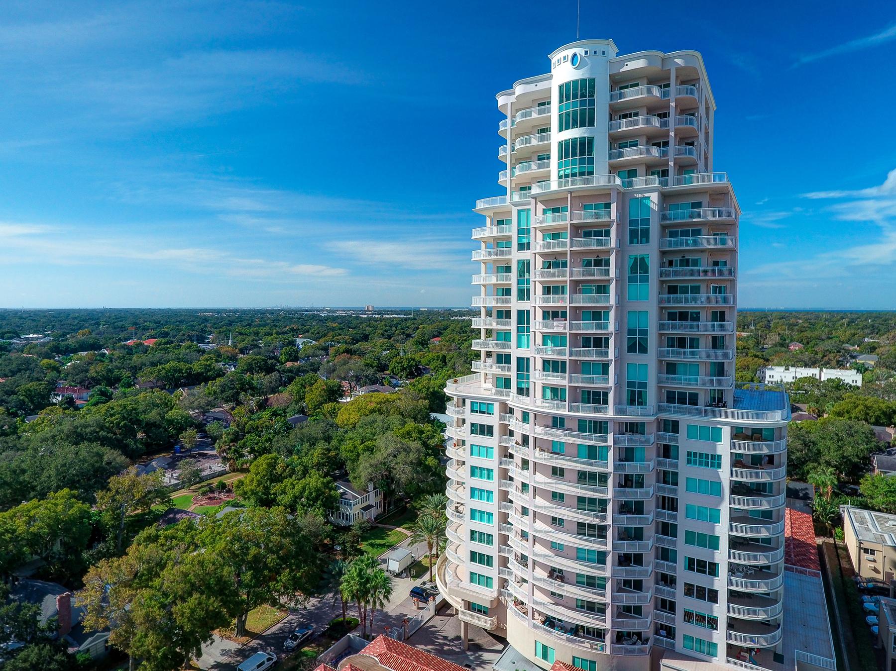 共管式独立产权公寓 为 销售 在 SOUTH TAMPA 3507 Bayshore Blvd 1601 坦帕市, 佛罗里达州, 33629 美国