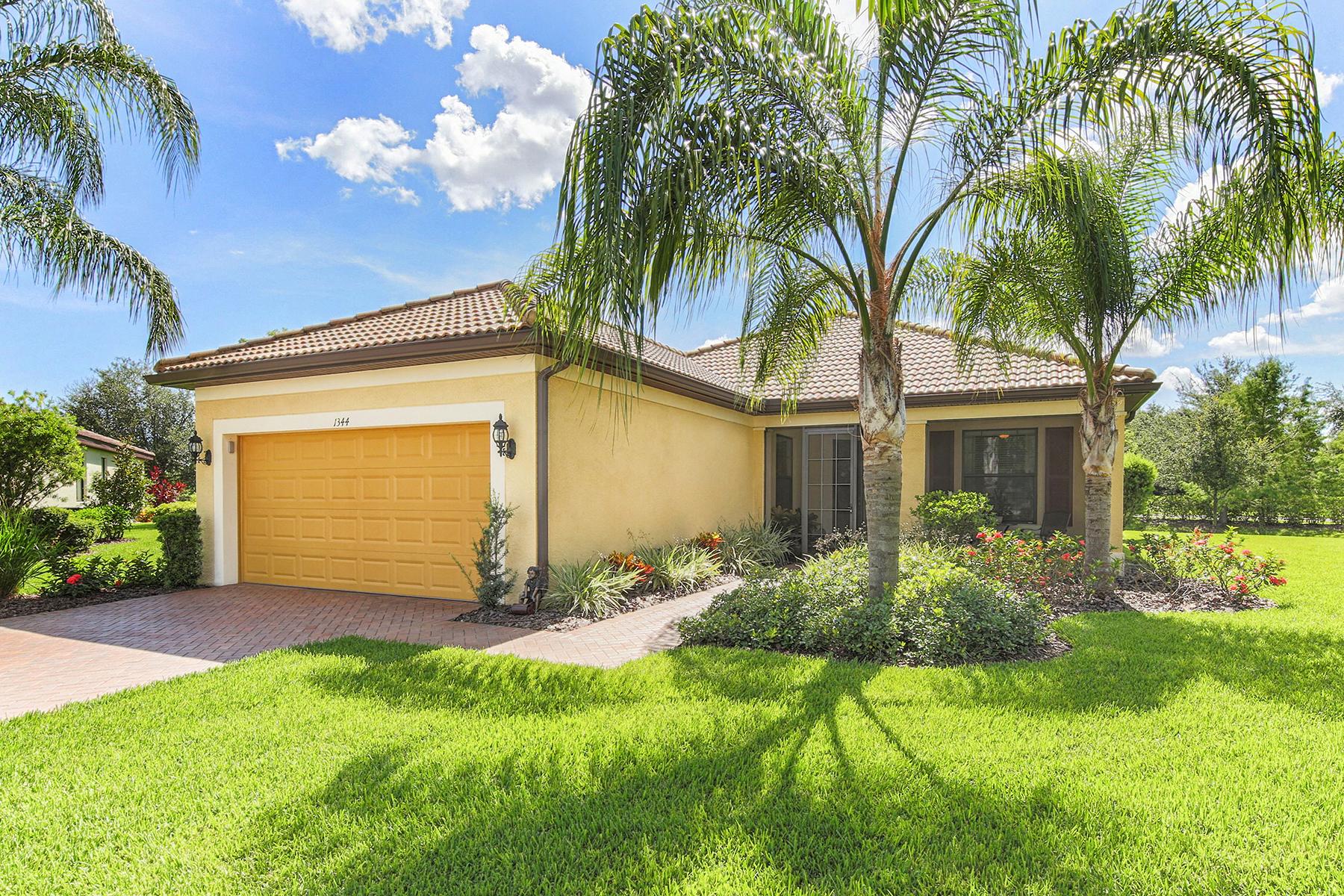 独户住宅 为 销售 在 CYPRESS FALLS 1344 Kelp Ct 北港, 佛罗里达州, 34289 美国