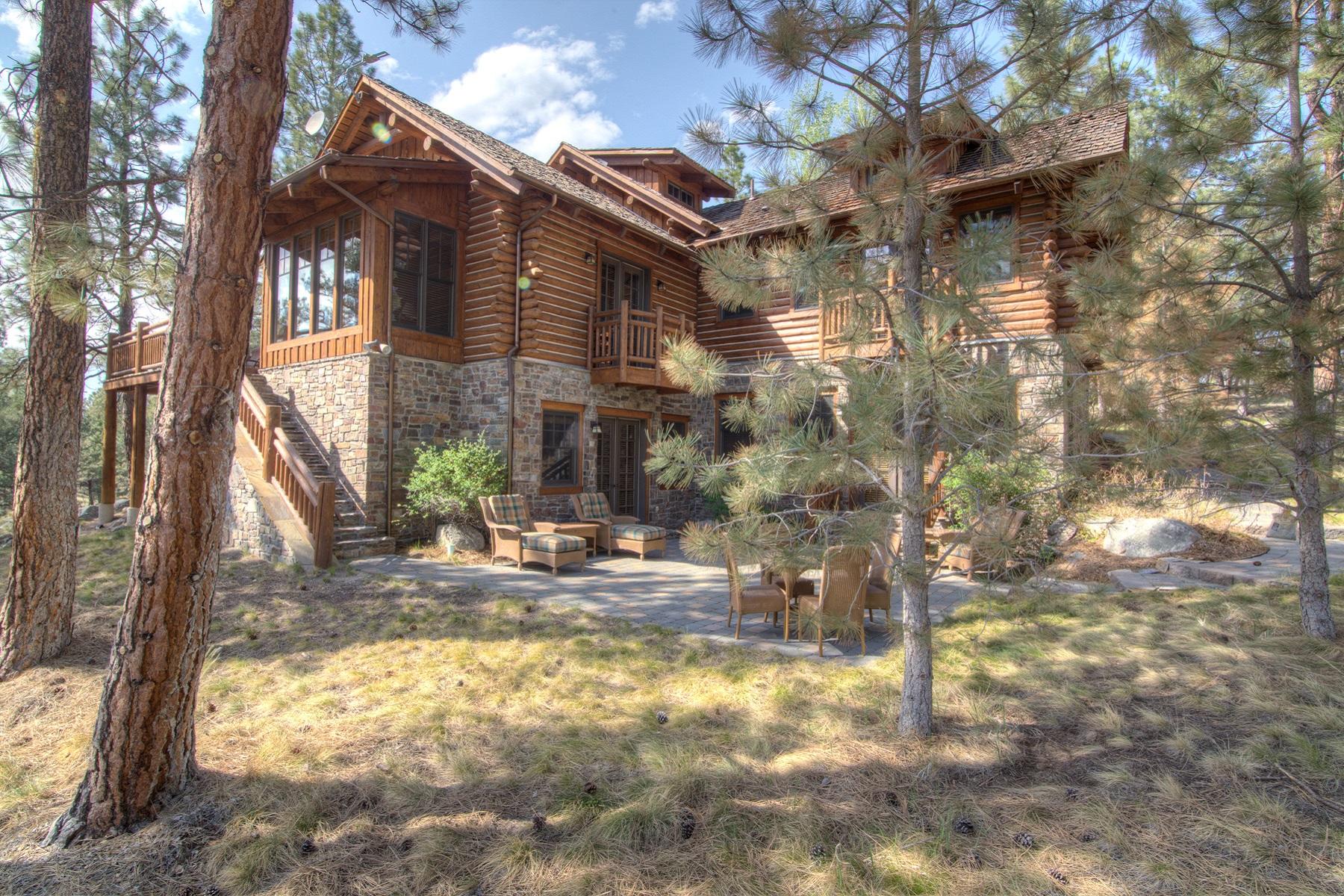 Single Family Home for Sale at Stock Farm Cabin 8 726 Pallo Trail Hamilton, Montana, 59840 United States