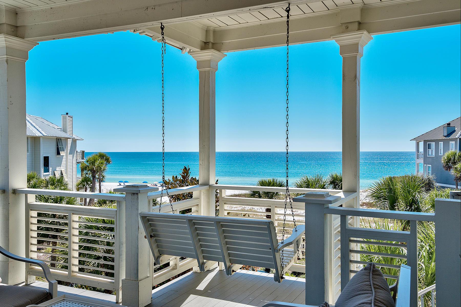 Vivienda unifamiliar por un Venta en LUXURY RATED RESIDENCE WITH GULF VIEWS 410 Beachfront Trail Santa Rosa Beach, Florida, 32459 Estados Unidos