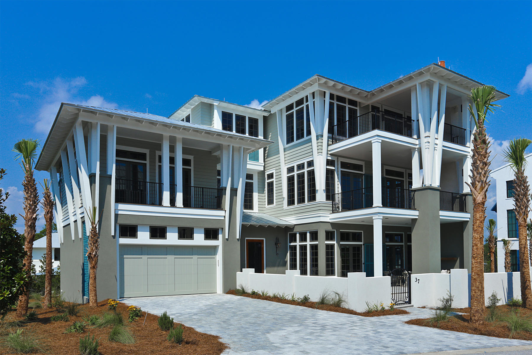 Single Family Home for Sale at UNOBSTRUCTED WESTERN VIEWS 37 E St. Lucia Ln Santa Rosa Beach, Florida 32459 United States