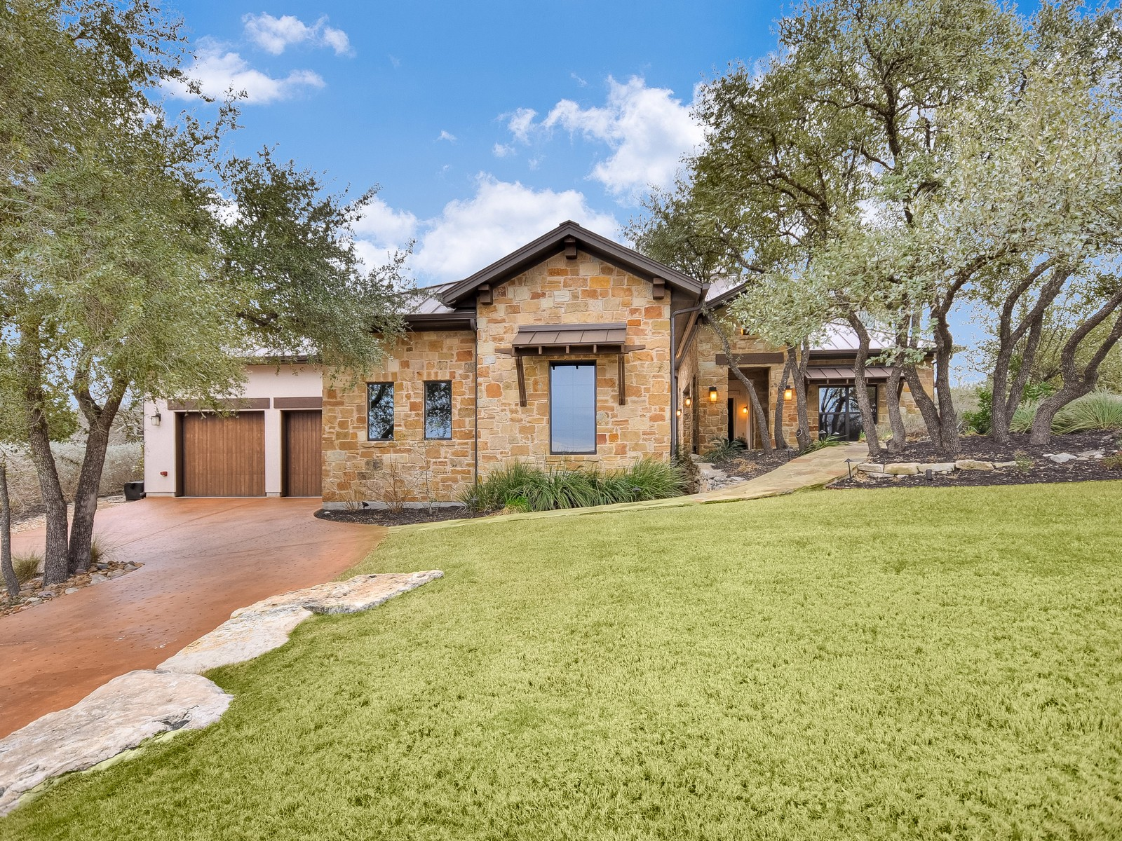 Single Family Home for Sale at Stunning Custom Hill Country Contemporary 4805 Pecan Chase Austin, Texas, 78738 United States