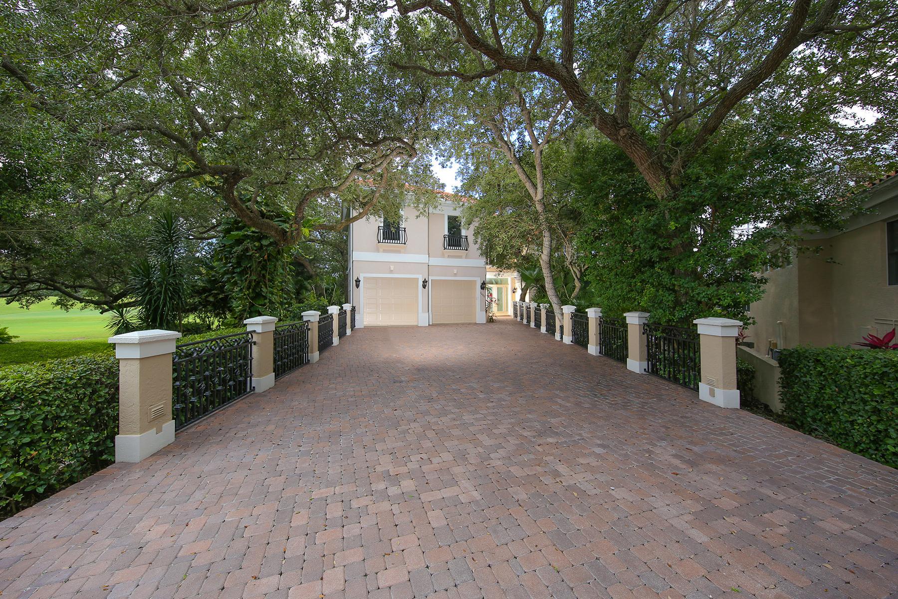 Single Family Home for Sale at PRESTANCIA 7460 Monte Verde Sarasota, Florida 34238 United States