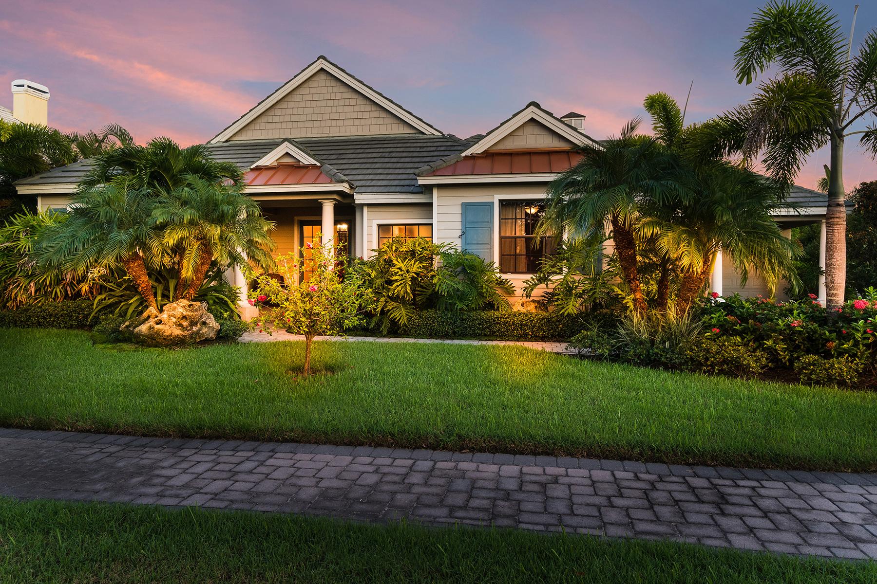 獨棟家庭住宅 為 出售 在 HARBOUR WALK AT THE INLETS 537 Fore Dr Bradenton, 佛羅里達州, 34208 美國