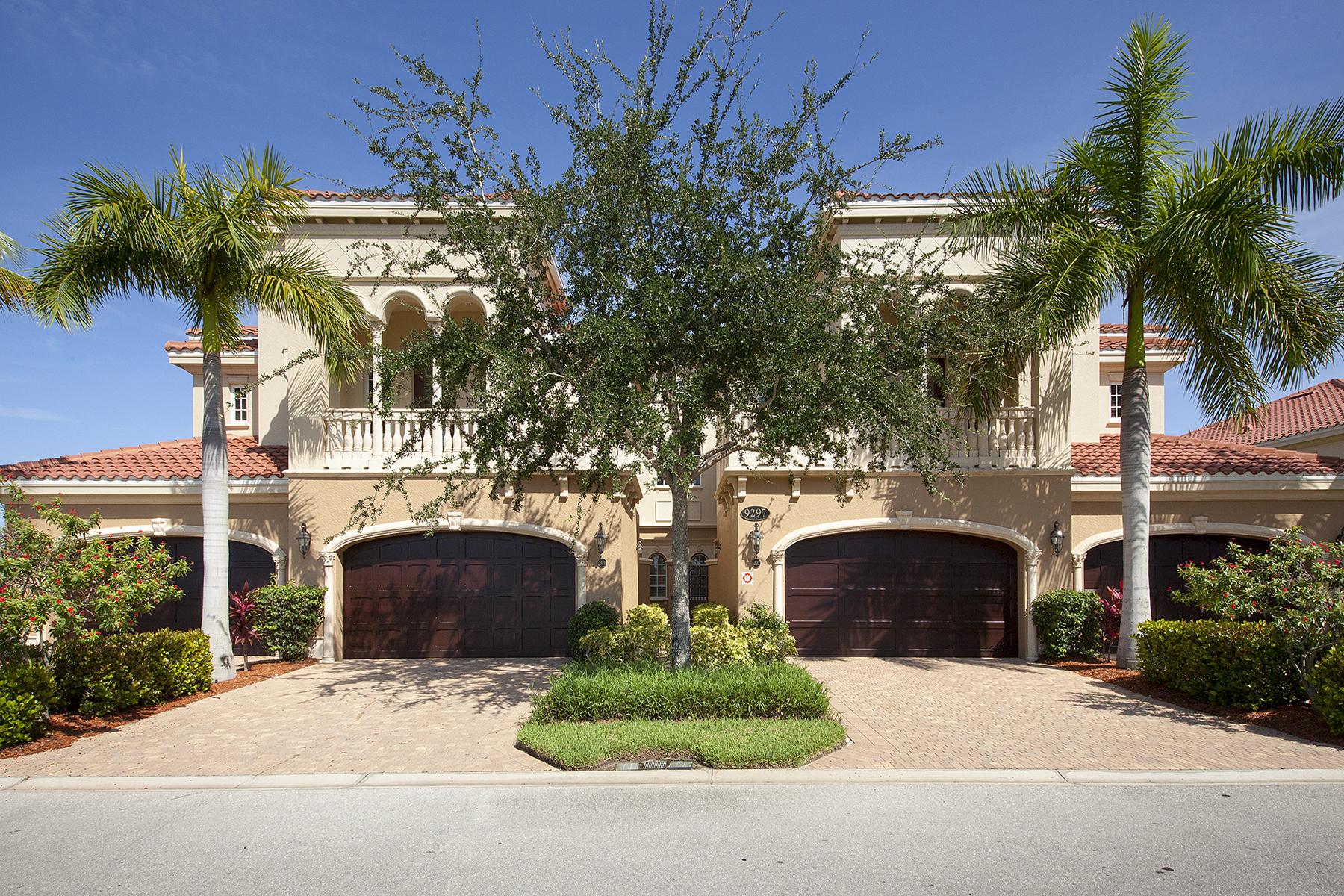 共管式独立产权公寓 为 销售 在 FIDDLER'S CREEK - MENAGGIO 9297 Menaggio Ct 201 Naples, 佛罗里达州 34114 美国