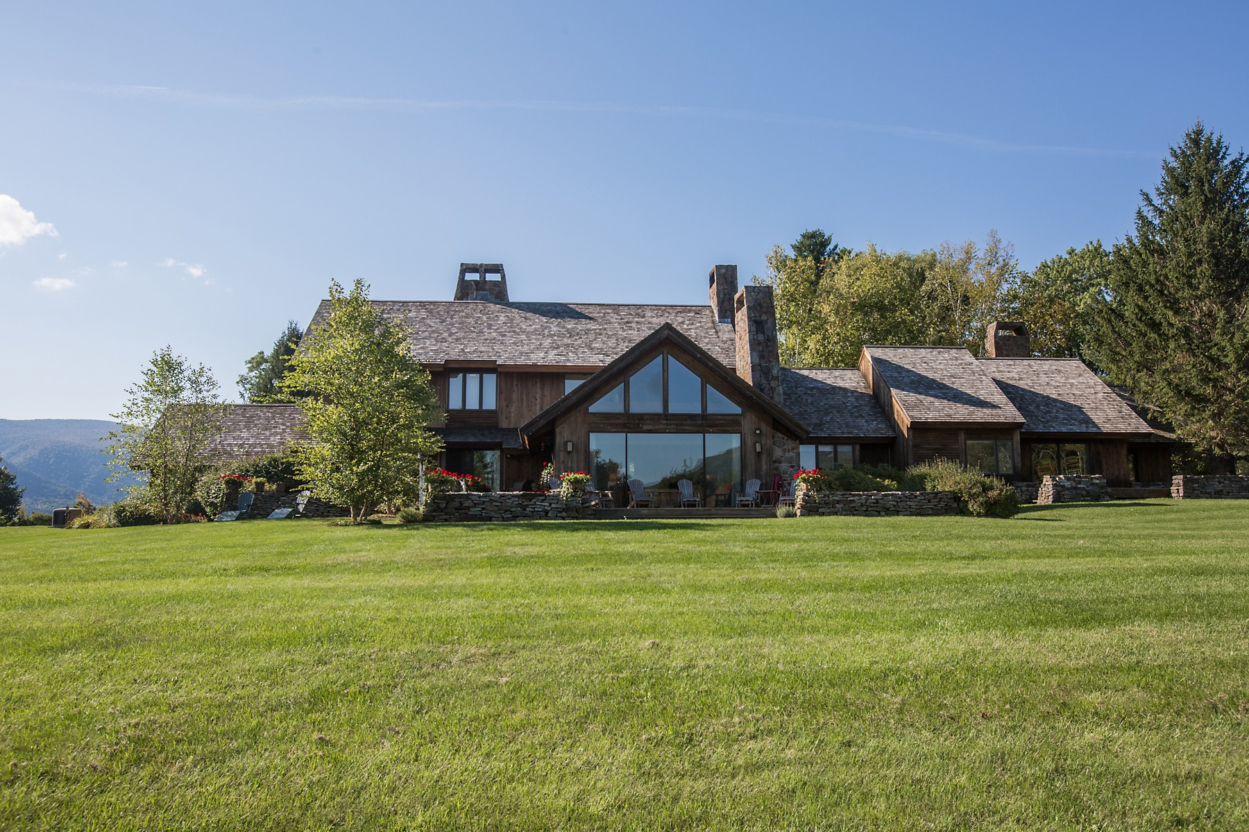 Single Family Home for Sale at High Meadow Way Estate 291 High Meadow Way Manchester, Vermont, 05255 United States