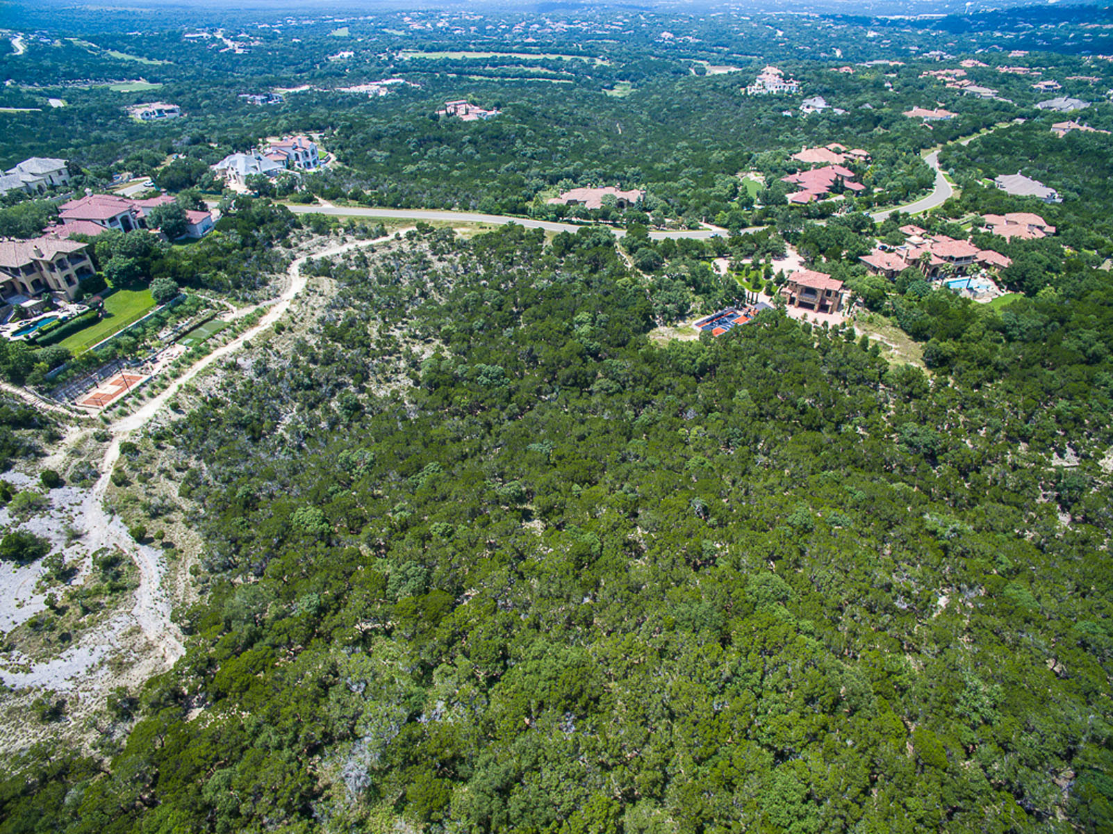 Terrain pour l Vente à Hill Country and Valley Views 4509 Mirador Dr Barton Creek, Austin, Texas, 78735 États-Unis