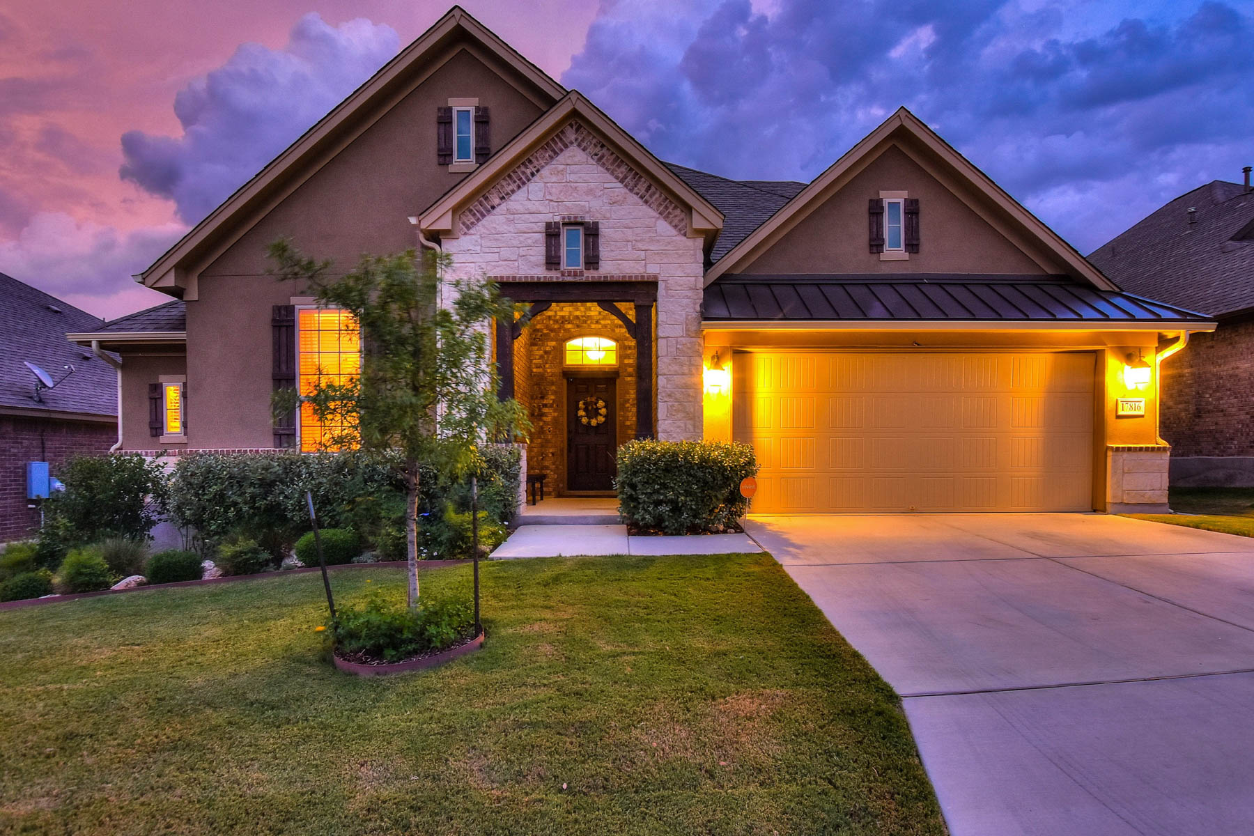 Single Family Home for Sale at Stunningly Upgraded Home in The Sanctuary 17816 Oxford Mt Helotes, Texas 78023 United States