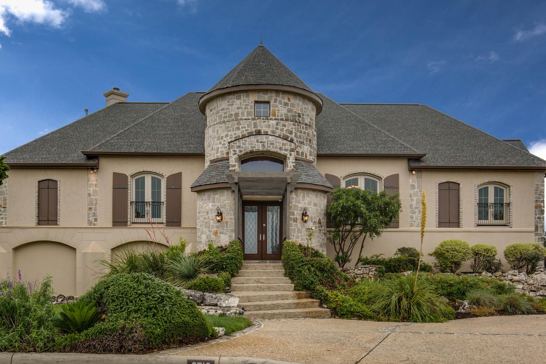 Single Family Home for Sale at Breathtaking Estate in Crownridge 6718 Wagner Way Crownridge, San Antonio, Texas, 78256 United States
