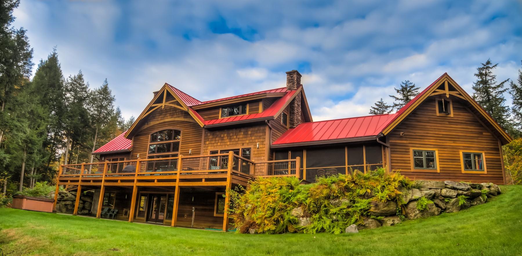Casa para uma família para Venda às Mountain Road Jay Peak 1918 Mountain Rd Montgomery, Vermont 05471 Estados Unidos