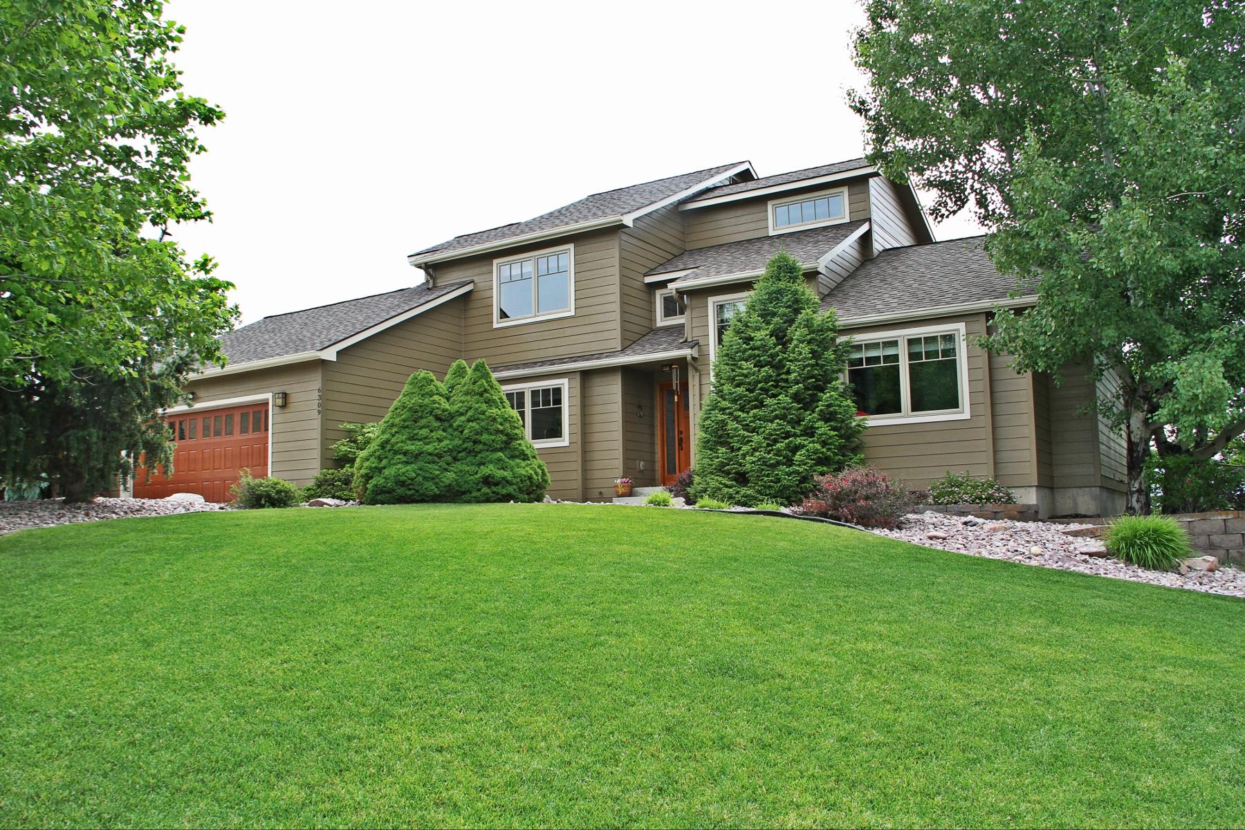 Casa para uma família para Venda às 6309 Hillview Way 6309 Hillview Way Missoula, Montana, 59803 Estados Unidos