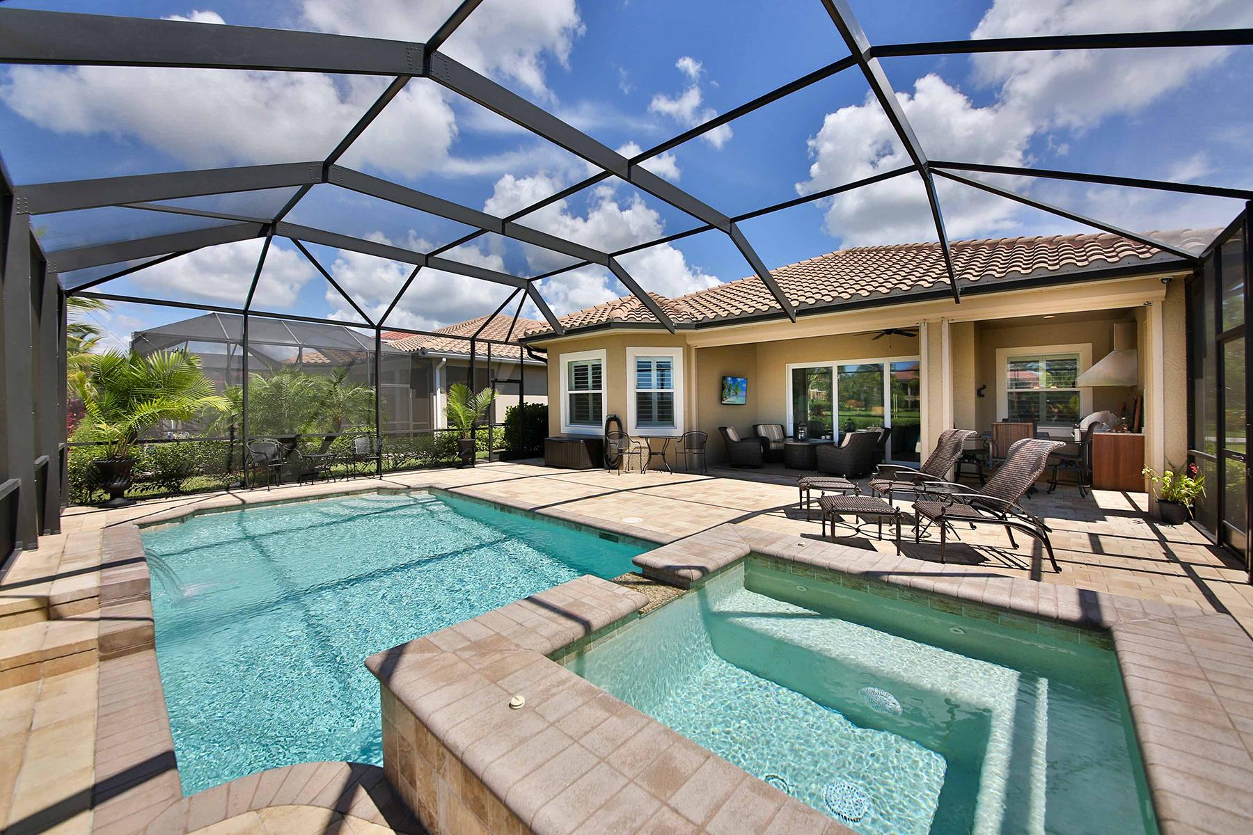 Maison unifamiliale pour l Vente à FIDDLER'S CREEK - AMADOR 9245 Campanile Cir Naples, Florida, 34114 États-Unis