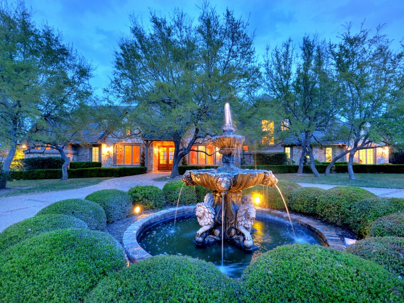 Single Family Home for Sale at Spectacular Estate Property 17135 Majestic Ridge Rd Austin, Texas 78738 United States