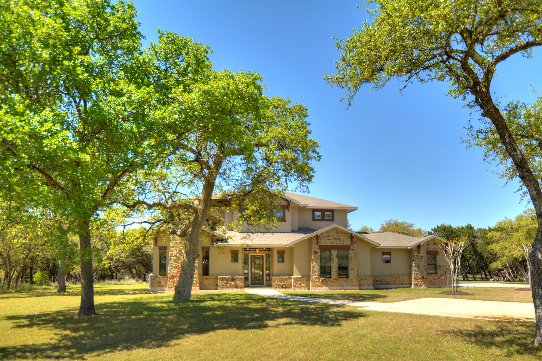 Single Family Home for Sale at Gorgeous Estate in Ammann Ranch Estates 23 Olivia Cir Boerne, Texas 78006 United States