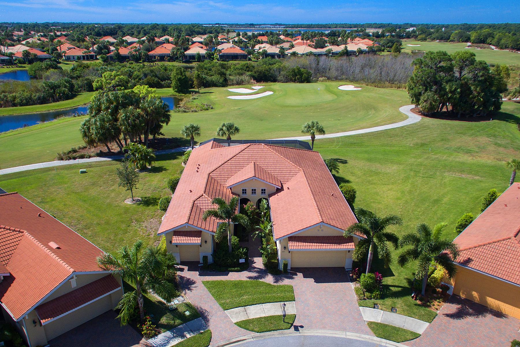 Casa Unifamiliar por un Venta en VENETIAN GOLF & RIVER CLUB 325 Martellago Dr North Venice, Florida, 34275 Estados Unidos
