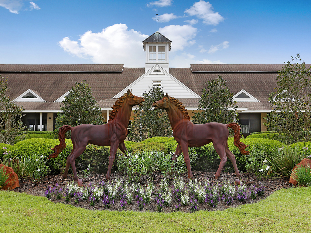Moradia para Venda às LAKEFRONT LUXURY EQUESTRIAN FARM 36225 Covington Rd, Dade City, Florida 33525 Estados Unidos