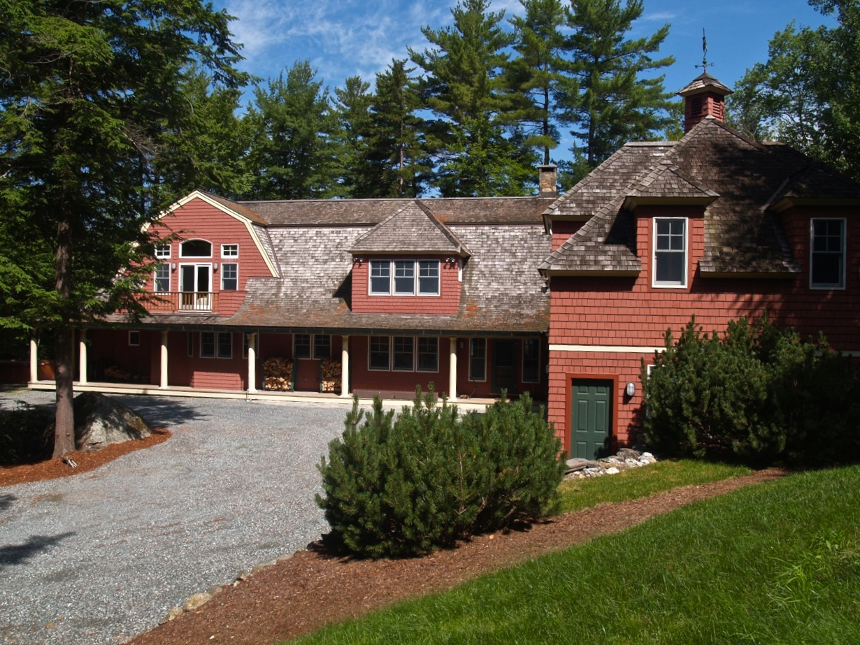 Single Family Home for Sale at Beautiful Lake Sunapee Home 206 Bowles Rd Newbury, New Hampshire 03255 United States