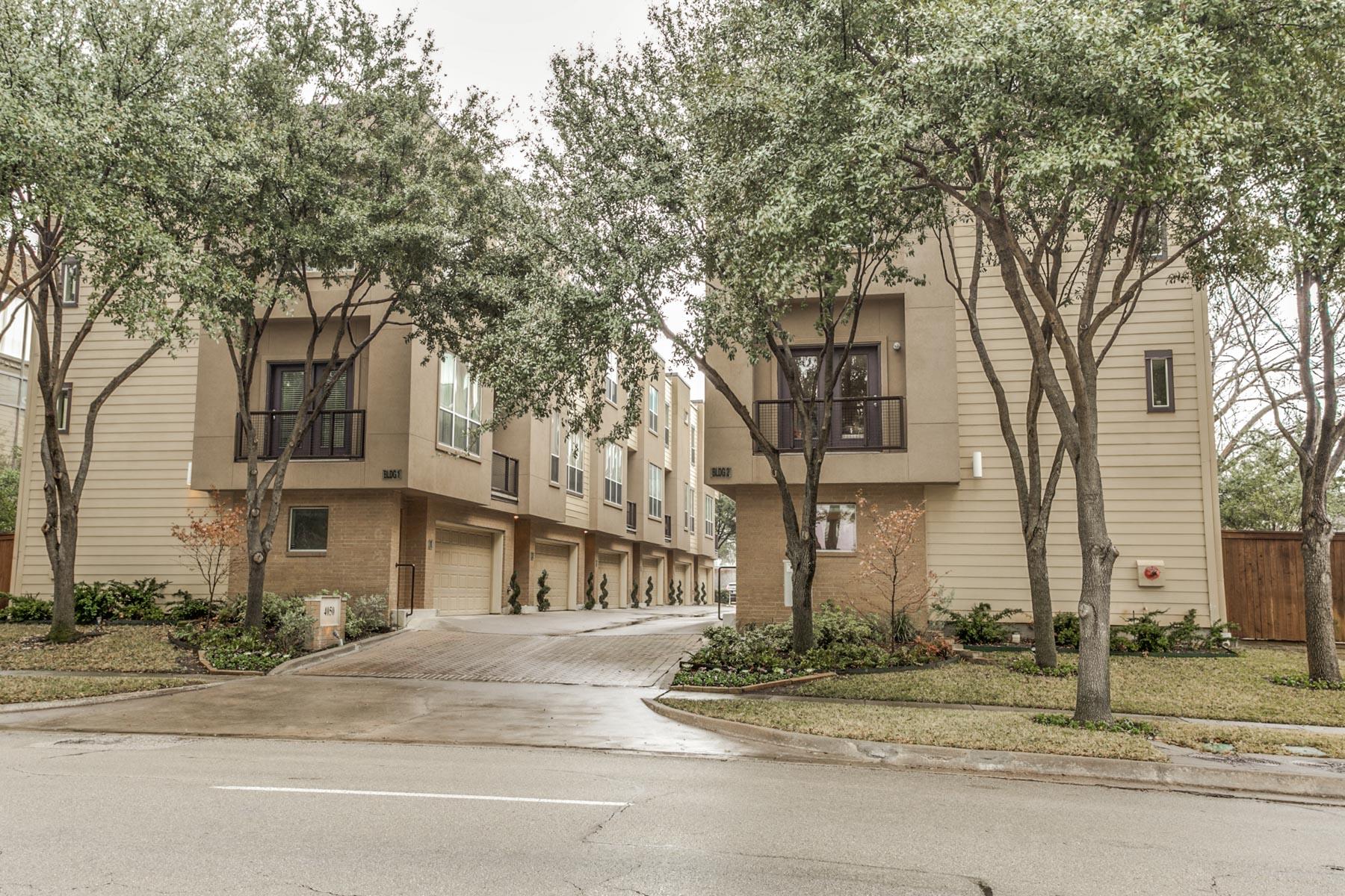 Appartement en copropriété pour l Vente à 4050 Mckinney Avenue 5, Dallas 4050 Mckinney Ave #5 Dallas, Texas, 75204 États-Unis