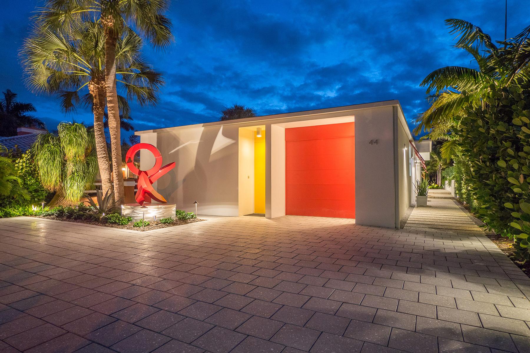 단독 가정 주택 용 매매 에 ST. ARMANDS 44 S Washington Dr St. Armands, Sarasota, 플로리다, 34236 미국