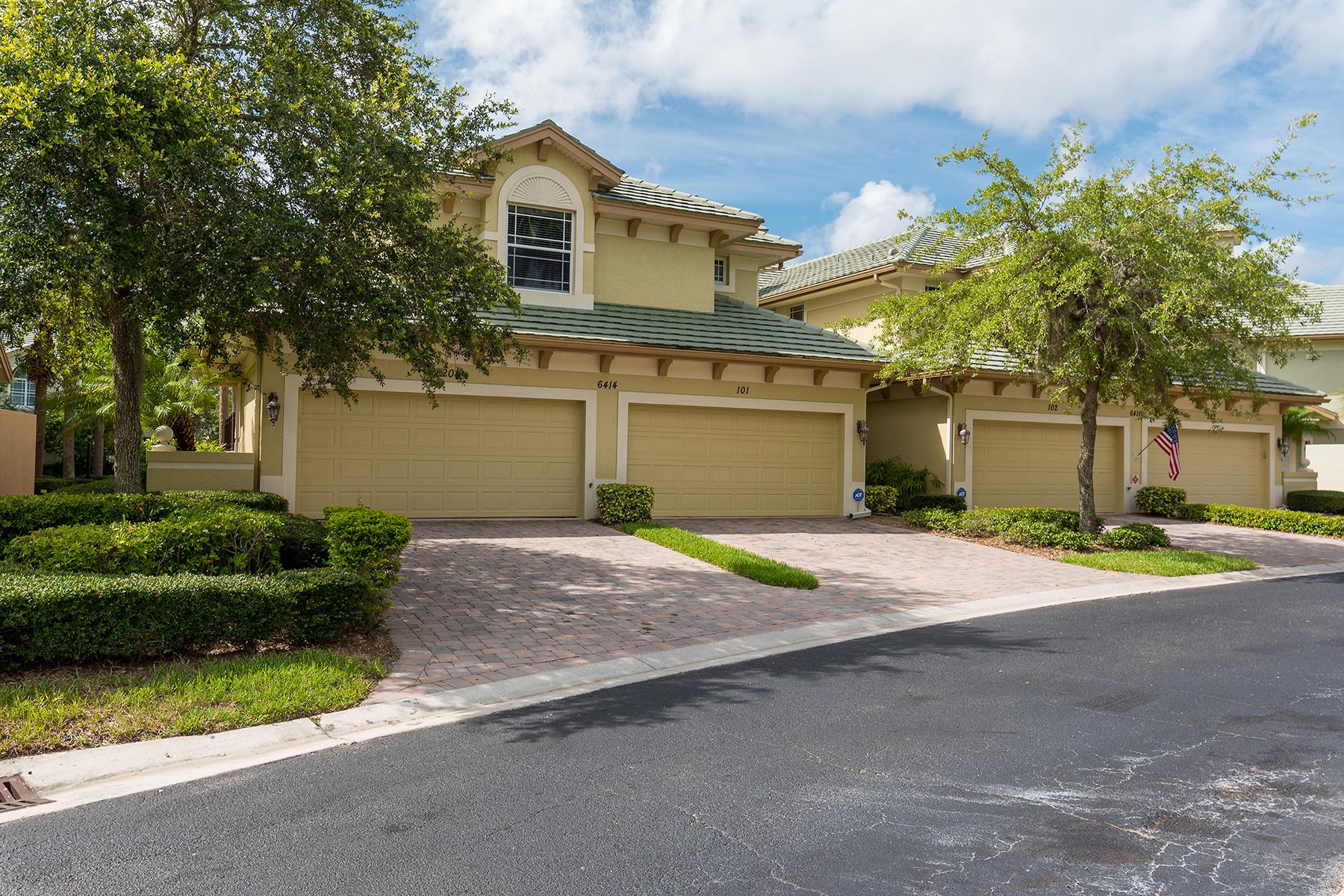Condominium for Sale at MOORINGS AT EDGEWATER 6414 Moorings Point Cir 201 Lakewood Ranch, Florida, 34202 United States