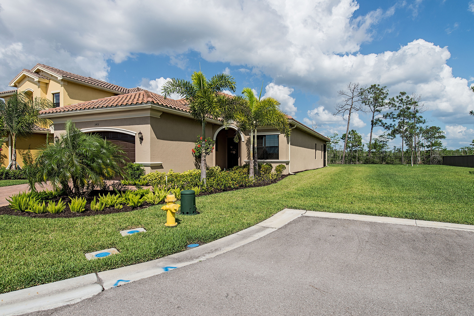Single Family Home for Sale at RIVERSTONE 3431 Baltic Dr Naples, Florida 34119 United States