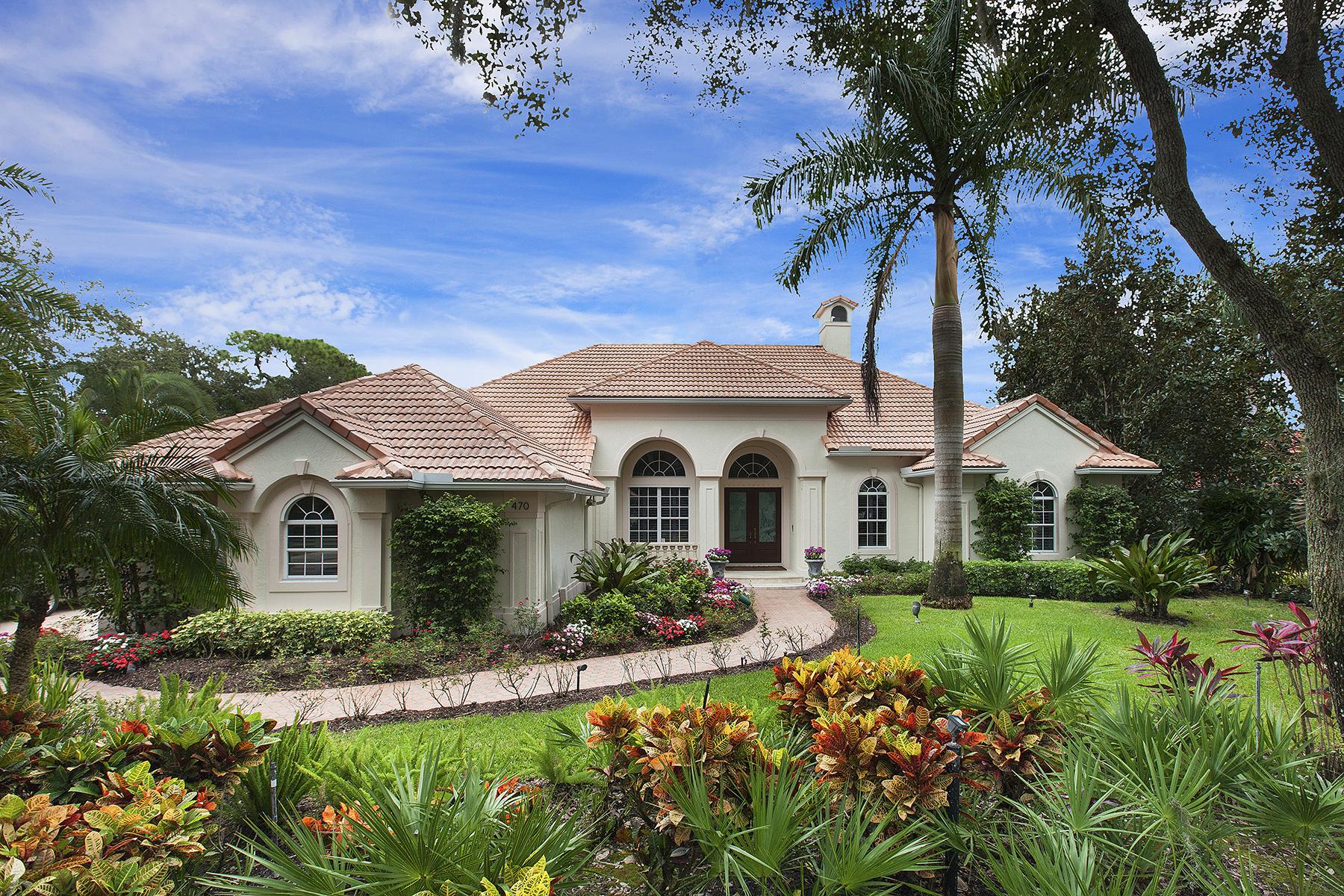 Частный односемейный дом для того Продажа на THE OAKS 470 E Macewen Dr Osprey, Флорида 34229 Соединенные Штаты