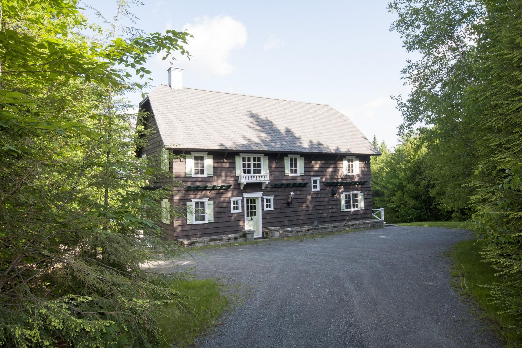 Maison unifamiliale pour l Vente à Custom Built Alpine 199 Sterling View Anx Elmore, Vermont 05661 États-Unis