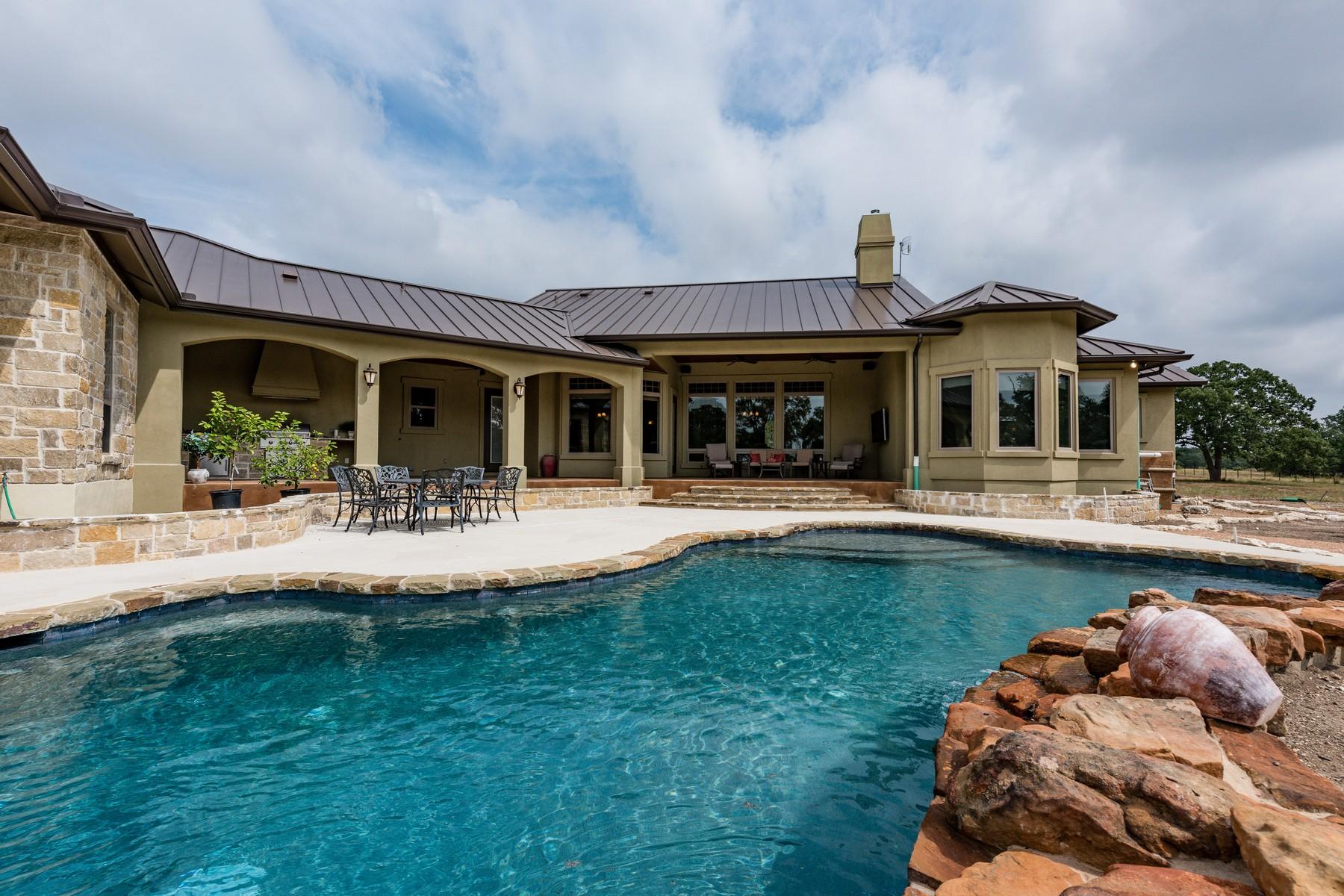 Single Family Home for Sale at 194 Landing Lane, Blanco 194 Landing Ln Blanco, Texas 78606 United States