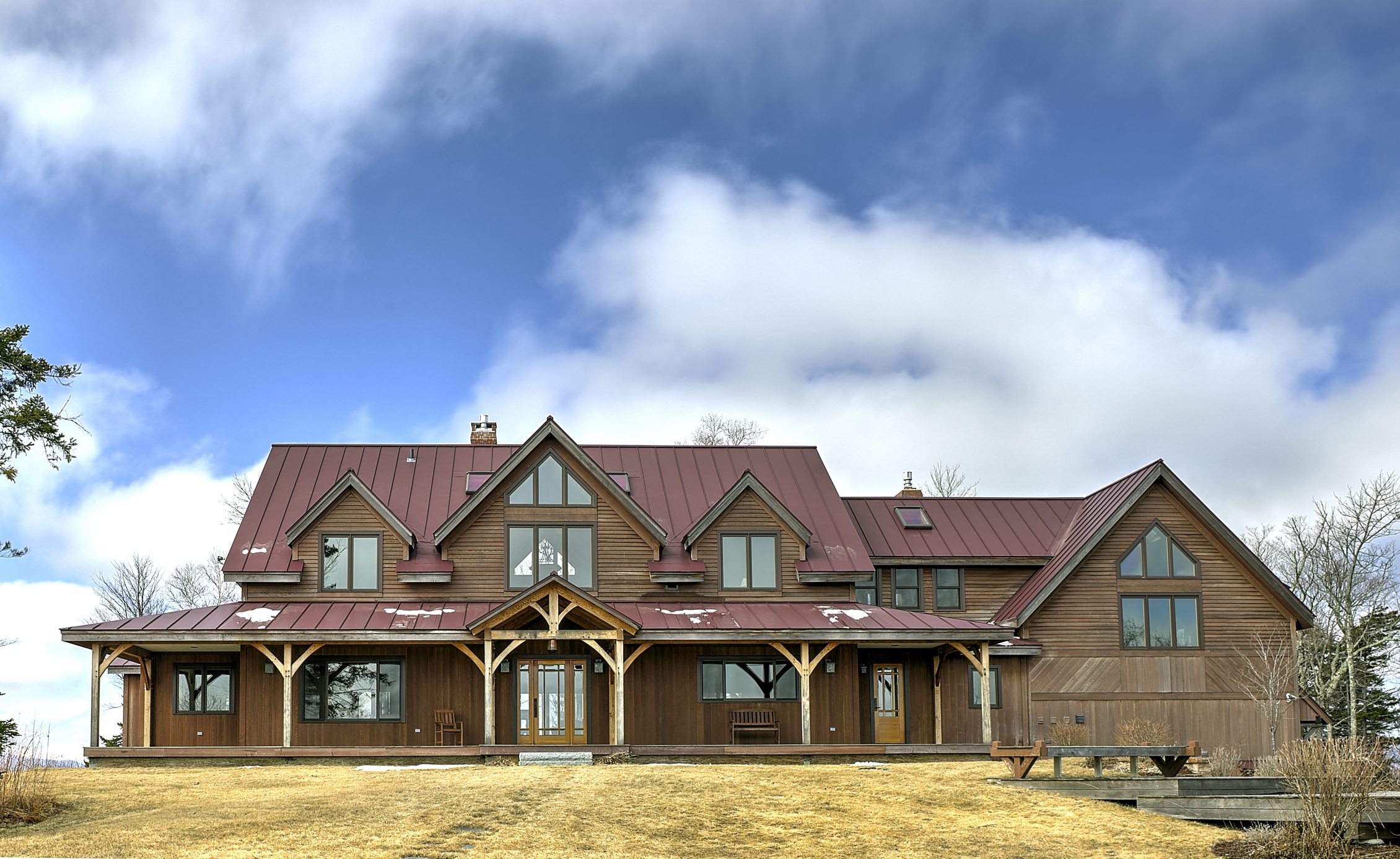 Maison unifamiliale pour l Vente à 811 Old Mt. Hunger Road, Barnard 811 Old Mt. Hunger Rd Barnard, Vermont, 05031 États-Unis