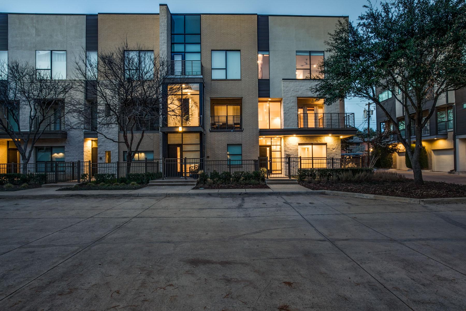 Appartement en copropriété pour l Vente à 4111 Newton Avenue 20, Dallas 4111 Newton Ave 20 Dallas, Texas, 75219 États-Unis