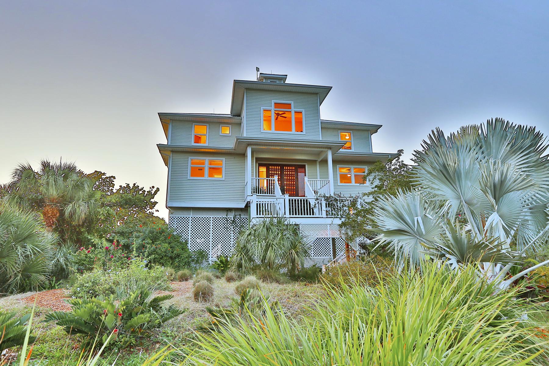 단독 가정 주택 용 매매 에 DON PEDRO ISLAND 490 S Gulf Blvd Placida, 플로리다, 33946 미국