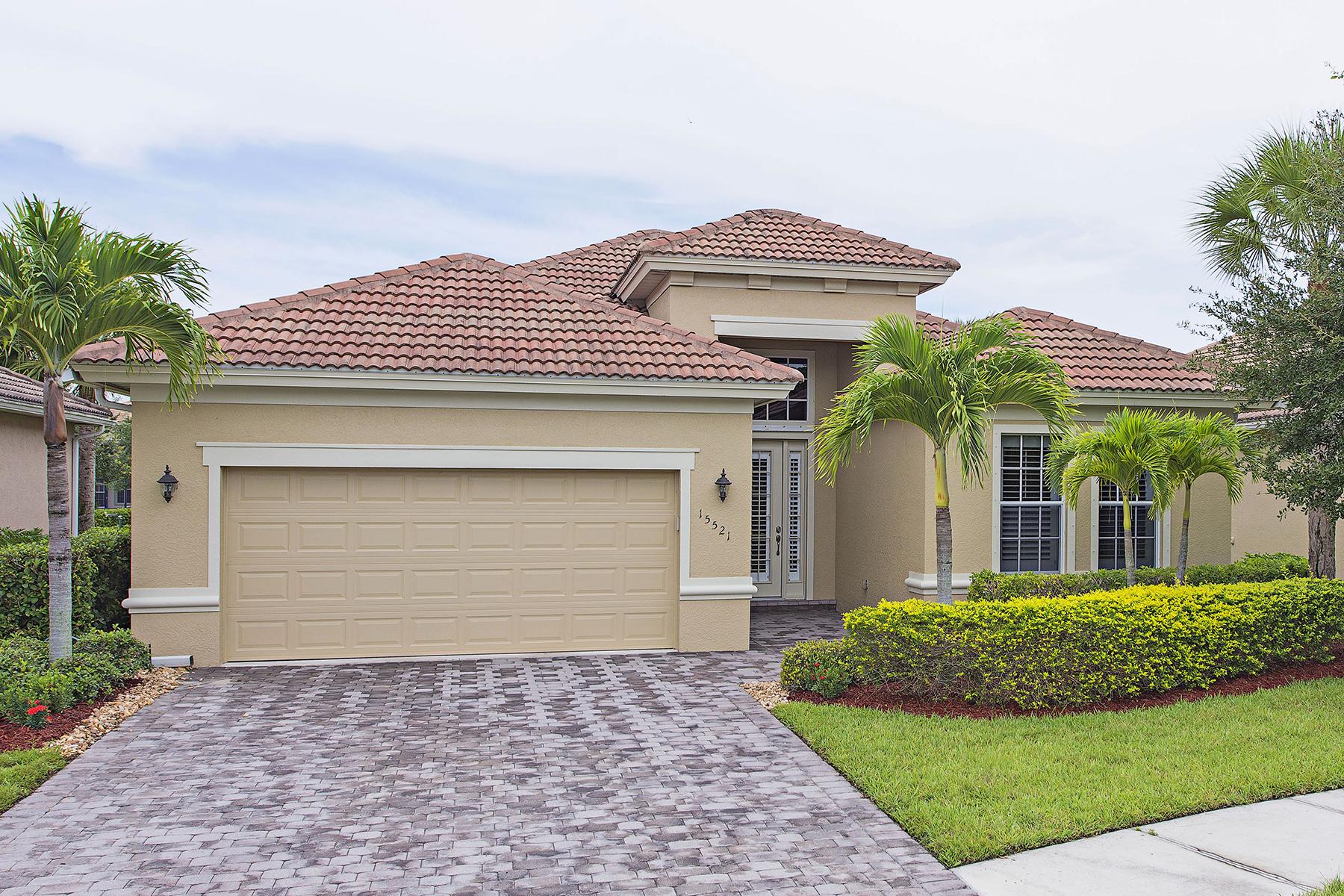 단독 가정 주택 용 매매 에 DELASOL 15521 Cadiz Ln Naples, 플로리다 34110 미국