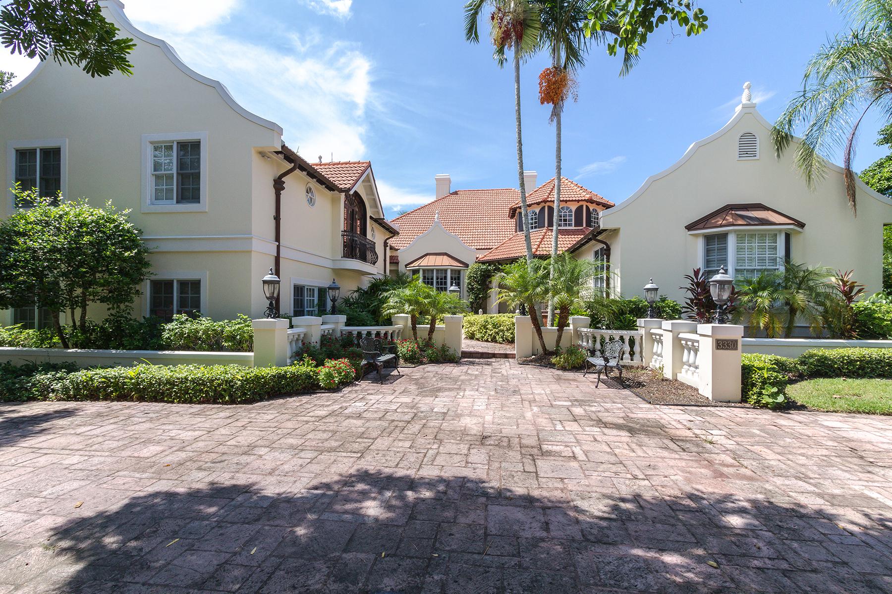 Maison unifamiliale pour l Location à 3330 Gin Ln , Naples, FL 34102 3330 Gin Ln, Naples, Florida 34102 États-Unis