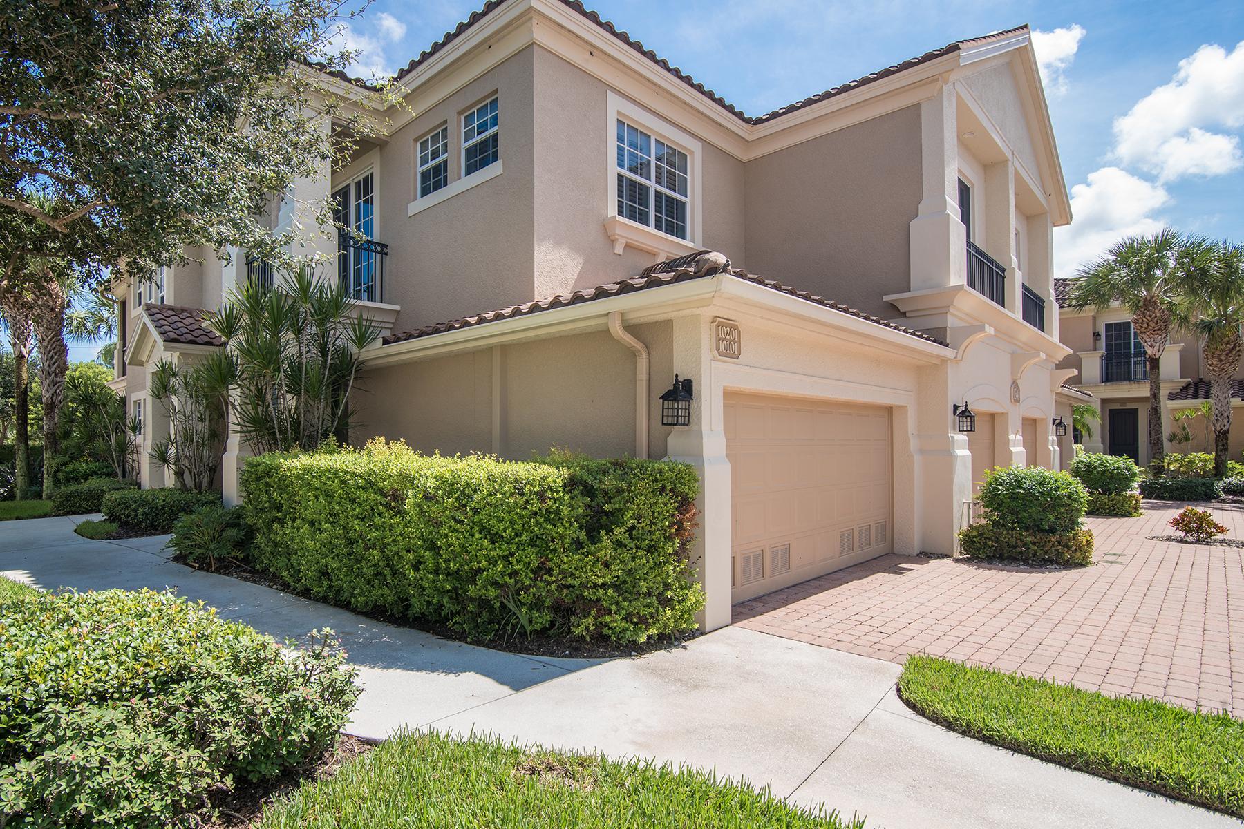 단독 가정 주택 용 매매 에 REMINGTON RESERVE 1340 Remington Way 201 Naples, 플로리다 34110 미국
