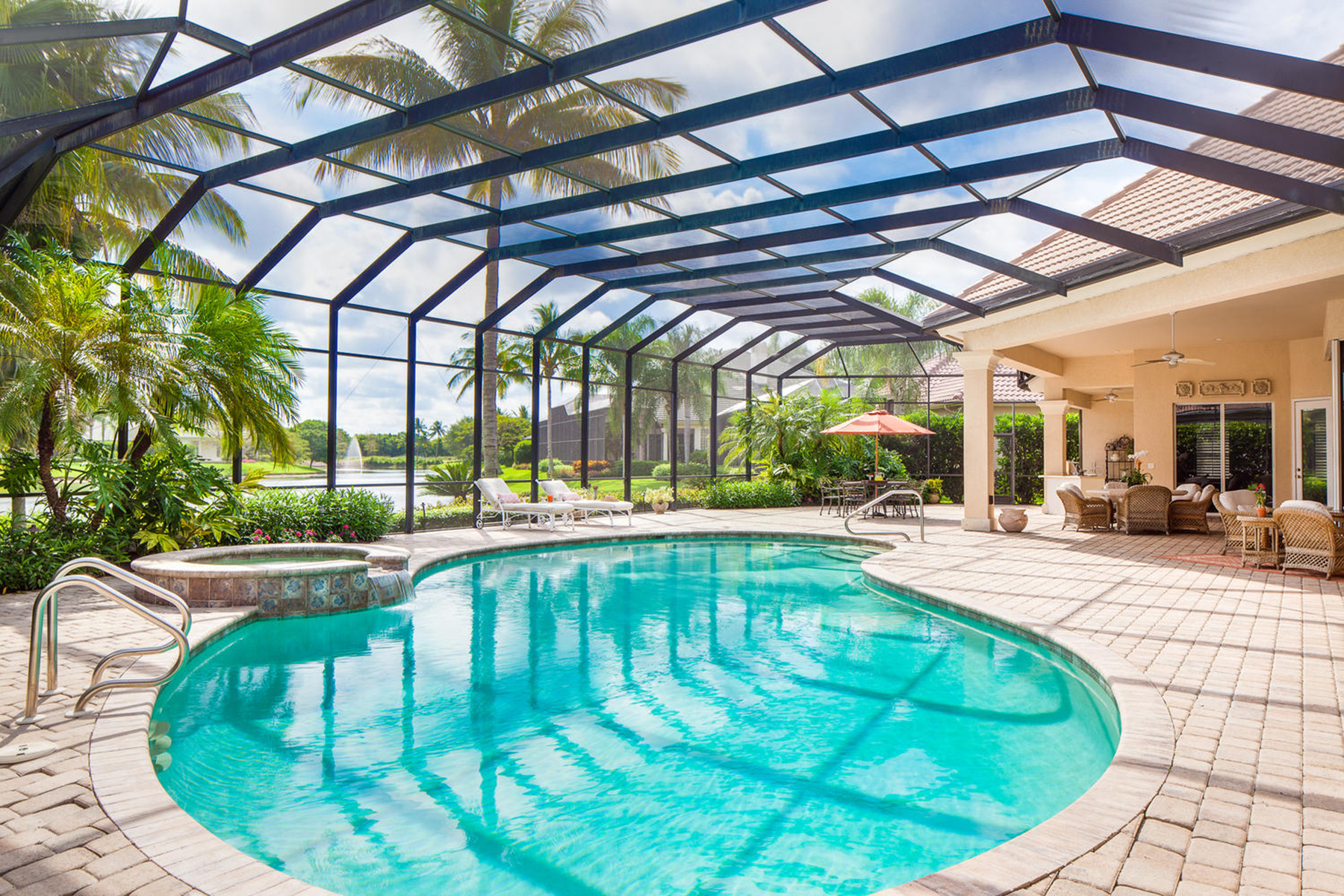 Single Family Home for Sale at PELICAN MARSH - MARSH LINKS 1708 Persimmon Dr Naples, Florida 34109 United States