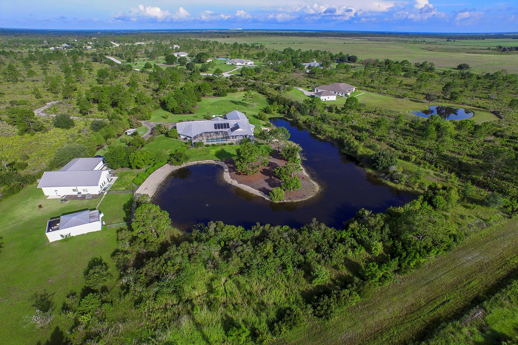 단독 가정 주택 용 매매 에 PRAIRIE CREEK PARK 17901 Wood Path Ct Punta Gorda, 플로리다 33982 미국