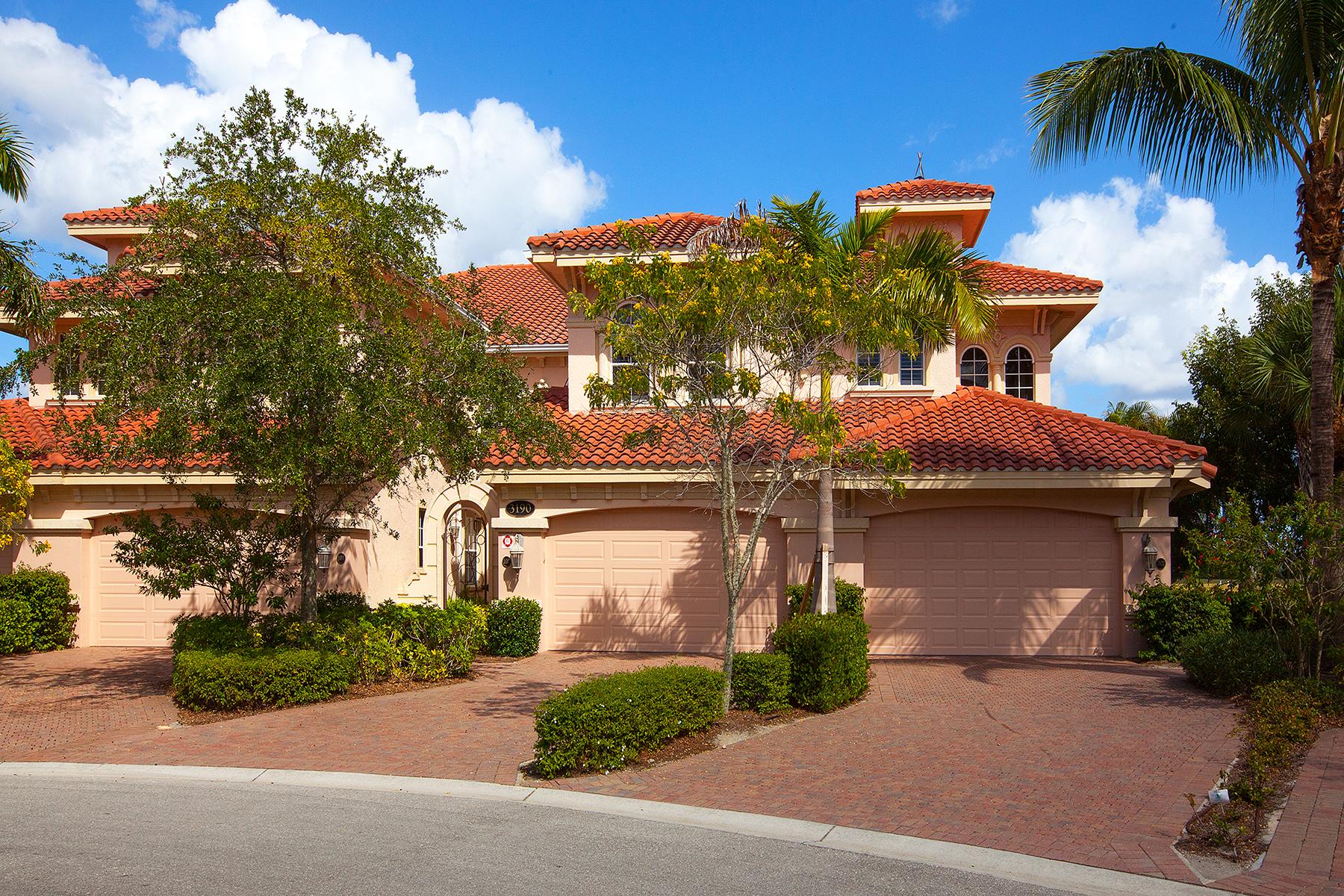 共管式独立产权公寓 为 销售 在 FIDDLER'S CREEK - SERENA 3190 Serenity Ct 202 Naples, 佛罗里达州 34114 美国