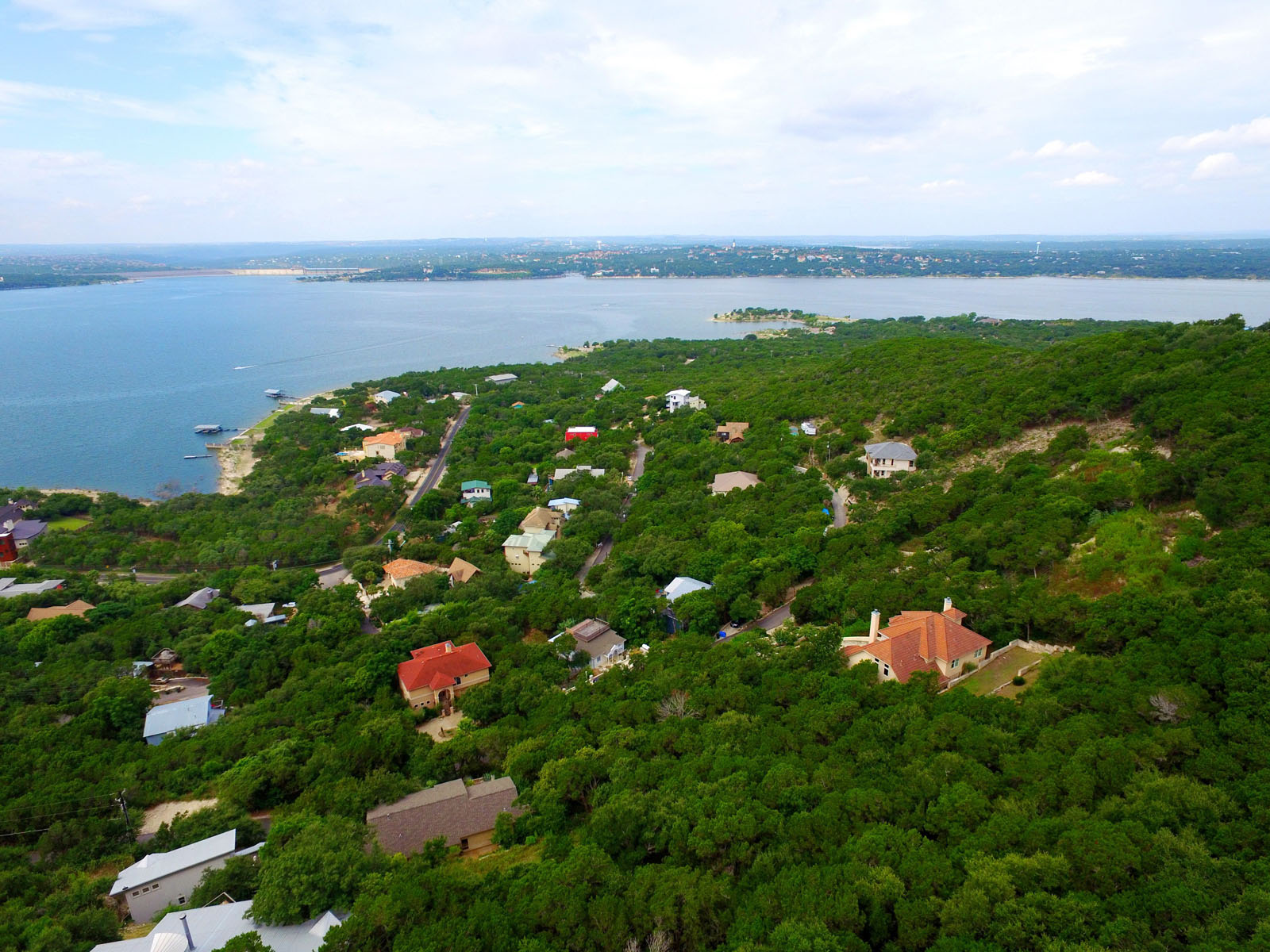 Terreno por un Venta en Build Your Lake Travis View Dream Home 14002 Skyline Dr Austin, Texas 78732 Estados Unidos