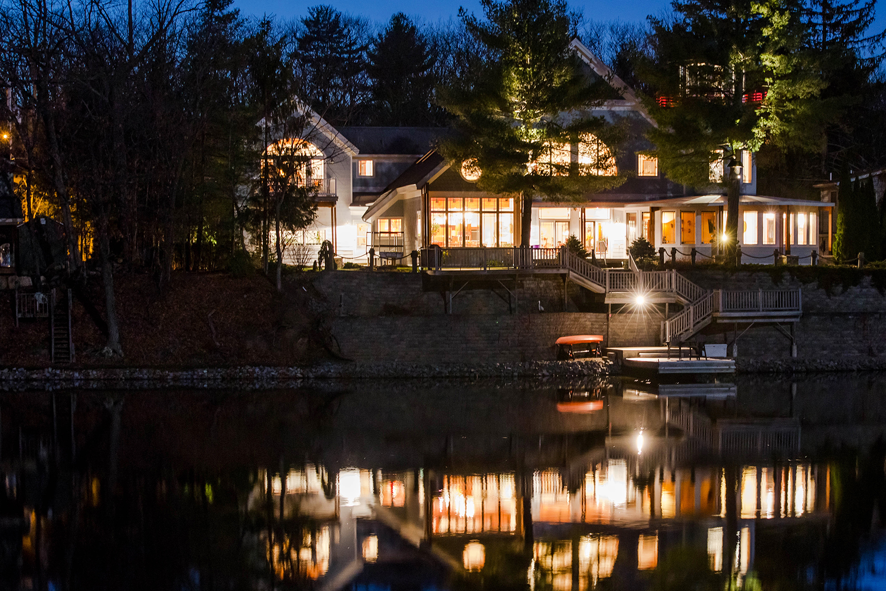 sales property at Custom Contemporary on Ballston Lake