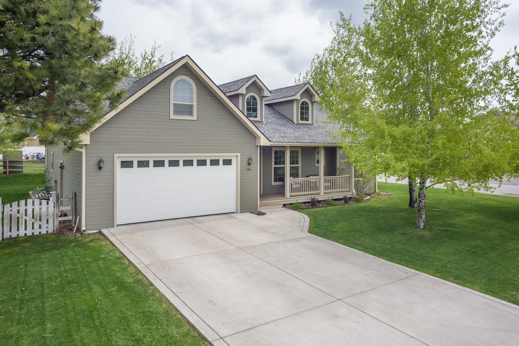 Maison unifamiliale pour l Vente à 185 N Crestview Terrance Bigfork, Montana, 59911 États-Unis