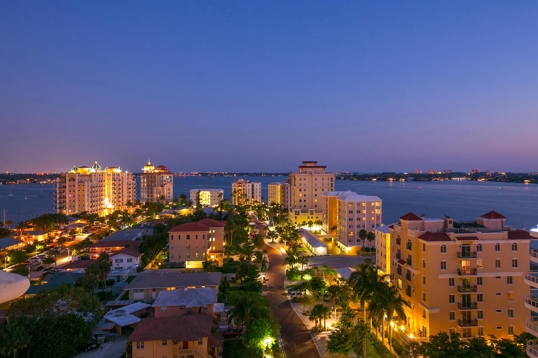 Nhà chung cư vì Bán tại GOLDEN GATE POINT 128 Golden Gate Pt 1001 Sarasota, Florida 34236 Hoa Kỳ